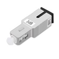 SC/UPC シングルモード光固定減衰器(オス-メス、3dB)の画像