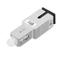 SC/UPC シングルモード光固定減衰器(オス-メス、7dB)の画像