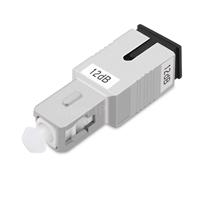 SC/UPC シングルモード光固定減衰器(オス-メス、12dB)の画像