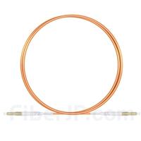 1m LC/UPC-LC/UPC シンプレックス マルチモード 光パッチケーブル(2.0mm PVC/OFNR OM1)の画像