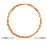5m LC/UPC-LC/UPC シンプレックス マルチモード 光パッチケーブル(2.0mm PVC/OFNR OM1)の画像