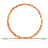 5m SC/UPC-SC/UPC シンプレックス マルチモード 光パッチケーブル(2.0mm PVC/OFNR OM1)の画像