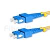 1m SC/UPC-SC/UPC デュプレックス シングルモード 光パッチケーブル(2.0mm OFNP OS2)の画像