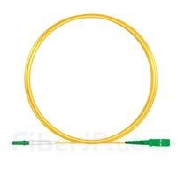 2m LC/APC-SC/APC シンプレックス シングルモード 光パッチケーブル(2.0mm PVC/OFNR OS2)の画像