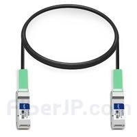 1m Dell (DE) DAC-Q28-100G-1M対応互換 100G QSFP28パッシブダイレクトアタッチ銅製Twinaxケーブル(DAC)の画像