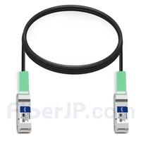 2m 汎用 対応互換 100G QSFP28パッシブダイレクトアタッチ銅製Twinaxケーブル(DAC)の画像
