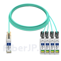 20m HUAWEI AOC-Q28-S28-20M対応互換 100G QSFP28/4x25G SFP28ブレイクアウトアクティブオプティカルケーブル(AOC)の画像
