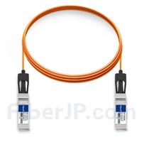 5m Dell (DE) Force10 CBL-10GSFP-AOC-5M対応互換 10G SFP+アクティブオプティカルケーブル(AOC)の画像