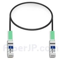 0.5m Dell (DE) Networking 332-1362対応互換 40G QSFP+パッシブダイレクトアタッチ銅製ケーブル(DAC)の画像