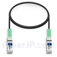 1m Extreme Networks 40GB-C01-QSFP対応互換 40G QSFP+パッシブダイレクトアタッチ銅製ケーブル(DAC)の画像