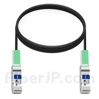 3m H3C LSWM1QSTK1対応互換 40G QSFP+パッシブダイレクトアタッチ銅製ケーブル(DAC)の画像