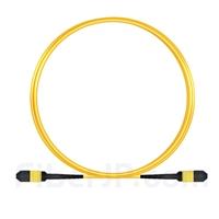 3m MPOメス 12芯 タイプB OS2 9/125 シングルモード トランクケーブル(エリート、LSZH、黄色)の画像