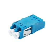 LC/UPC-LC/UPC デュプレックス シングルモード SC型プラスチック製光ファイバアダプター/嵌合スリーブ(フランジなし)の画像