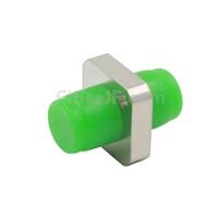 FC/APC-FC/APC シンプレックス シングルモード 角形 固体型 金属製光ファイバアダプター/嵌合スリーブ(一体型、フランジ付き)の画像