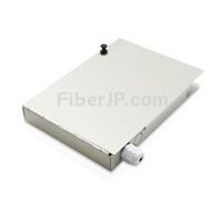 8ポート FTB-108 ウォールマウント光成端箱(ピグテールとアダプタなしの画像