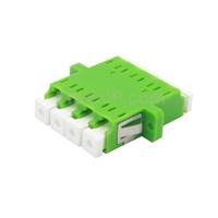LC/APC-LC/APC 4芯 シングルモード 光ファイバアダプター/嵌合スリーブ(フランジ付き)の画像