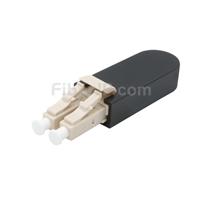 LC/UPC デュプレックス マルチモード 光ファイバループバックモジュール(PVC、OM4、50/125)の画像