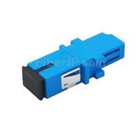 LC-SC ハイブリッド シンプレックス プラスチック製光ファイバアダプター/嵌合スリーブ(メス-メス)の画像