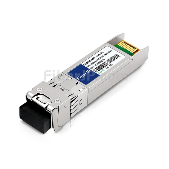 ADTRAN 1442481G5C互換 10GBase-DWDM SFP+モジュール 1557.36nm 80km SMF(LCデュプレックス) DOMの画像