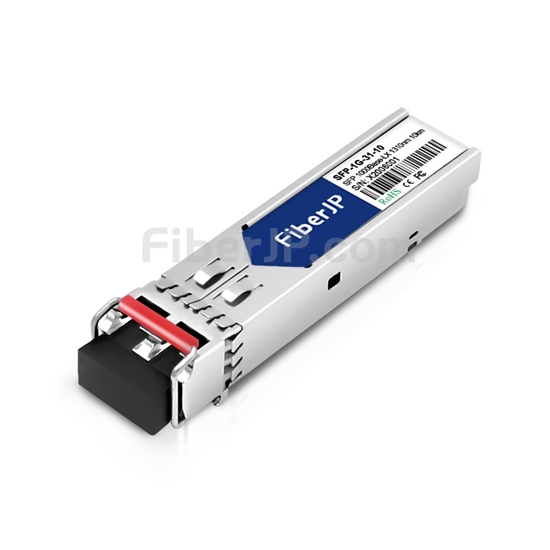 ADTRAN 1442655G1C互換 1000Base-LX SFPモジュール 1310nm 10km SMF(LCデュプレックス) DOMの画像