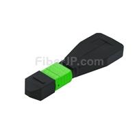 12芯 MTP®/MPOメス シングルモード 光ファイバループバックモジュール(タイプ1、9/125)の画像