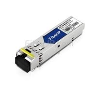 Juniper Networks SFP-FE10KT15R13対応互換 100BASE-BX BiDi SFPモジュール(1550nm-TX/1310nm-RX 10km DOM)の画像