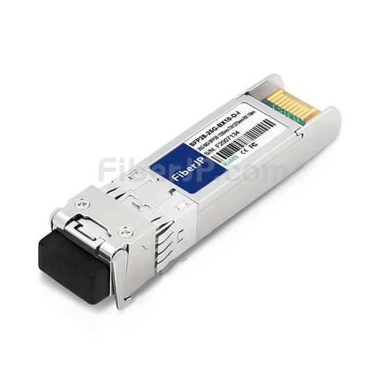 工業用 Cisco SFP-25GBX-D-10-I互換 25GBASE-BX10-D SFP28モジュール(1330nm-TX/1270nm-RX 10km DOM)の画像